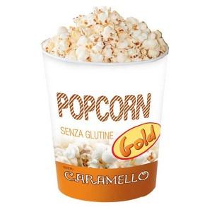 Gli Scoppiati -60 gr Popcorn Caramello 12 Pz