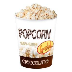 Gli Scoppiati -60 gr Popcorn Cioccolato 12 Pz