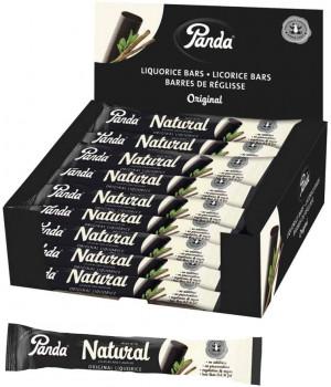 Liquirizia Panda Naturale 100% - Confezione da 36 pezzi - senza conservanti, aromi e coloranti