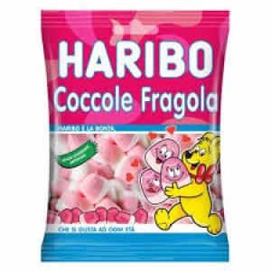 HARIBO Coccole e Fragole 1 kg