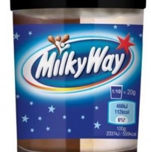 MILKI WAY Crema Spalmabile bigusto latte e cacao 200 gr