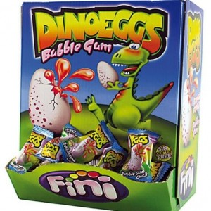 DINO EGGS FINI CHICLE 200 PZ