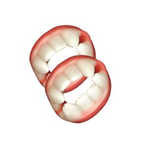Fini Gommosi Lucidi Dentiere Doppie