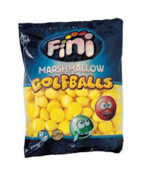 MARSHMALLOW PALLE DA GOLF BANANA 1 kg