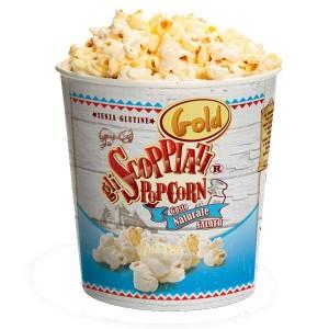 Gli Scoppiati - Popcorn naturale SENZA GLUTINE 12 PZ