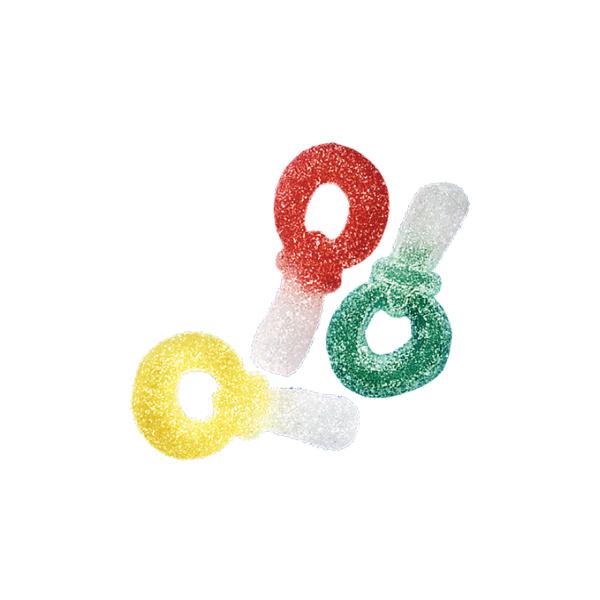 Fini Gommosi Zuccherati Ciucci Colorati